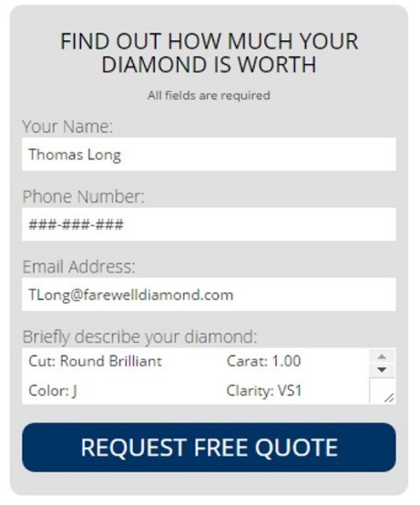 Sell Your Diamond Online Farewell Diamond Blog 1